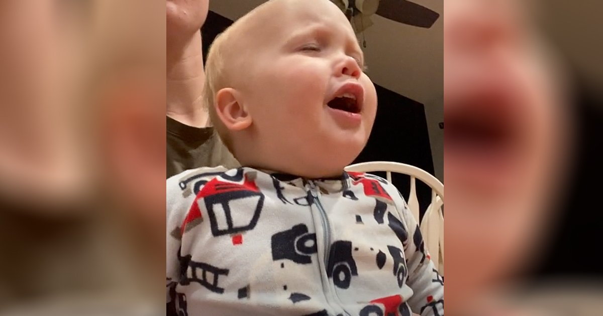baby boy sings god only knows