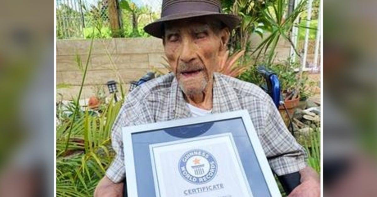 world's oldest living man