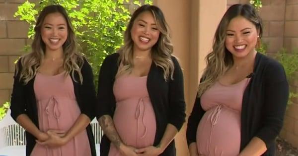 triplets pregnant at same time