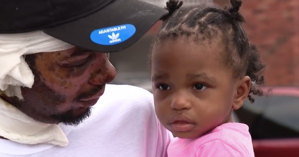 dad saves twins from house fire