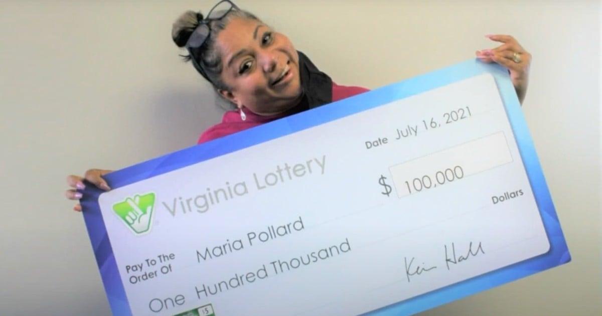 throws away winning lottery ticket maria pollard