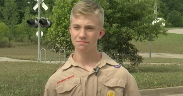 2 Brave Boy Scouts Were Riding Their Bikes When They Heard Screams For Help