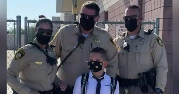 police officer dad