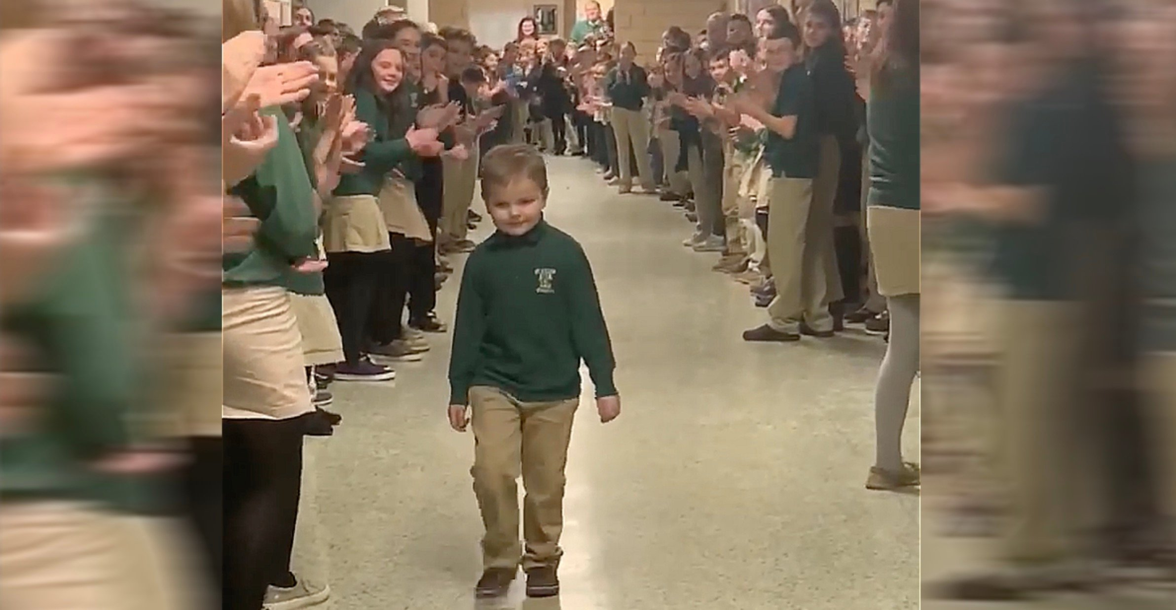 return to school for 6-year-old who beat cancer