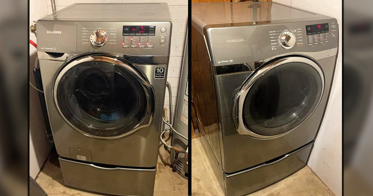 buy washer and dryer used