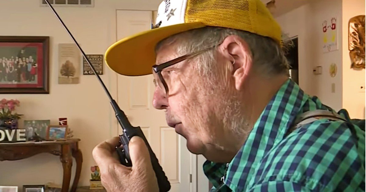 ham radio hobbyist saves life