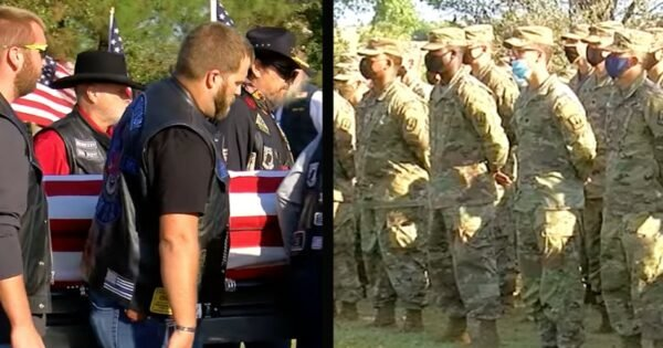 Veteran With No Known Family Is Laid To Rest And Hundreds Show Up To Honor Him